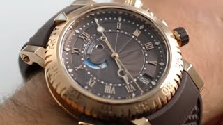 How To Set The Alarm On A Breguet Marine Royale (5847BRZ25ZV)
