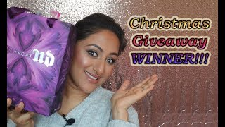 2018 Christmas Giveaway Winner ** B Beautiful by Binita **