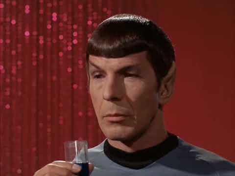 Star Trek Meditation: Stone-faced Spock (The Enterprise Incident)