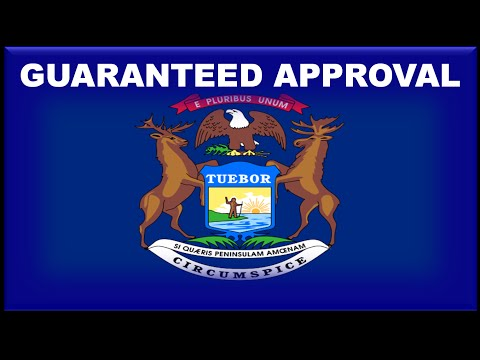 Michigan State Car Financing : Guaranteed Approval on Auto Loans for Bad Credit without a Cosigner