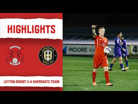 Leyton Orient Harrogate Goals And Highlights