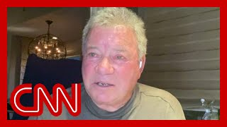 Hear why William Shatner is 'overwhelmed by sadness' after space flight