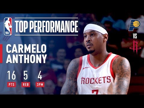 Carmelo Anthony Puts Up 16 vs The Pacers |...