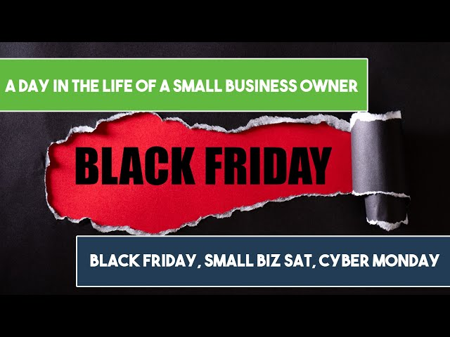 Surviving Black Friday During COVID as a Small Biz