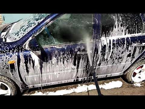 Отмыл грязь после весны. Мойка Хутер (Huter W105 P) / Гараж 73