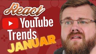 React: YouTube Trends #4 - Januar