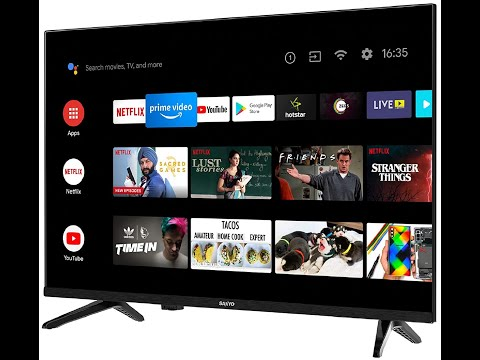 Sanyo 80 cm (32 inches) Kaizen Series HD Ready Smart Certified Android IPS LED TV XT-32A170H