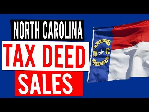 Tax Deed Sales in North Carolina