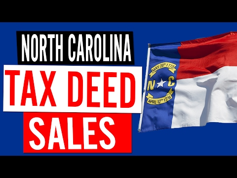 Tax Deed Sales in North Carolina
