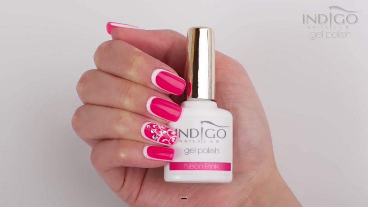 Indigo Salon Design Neon Pink + Mr White - YouTube