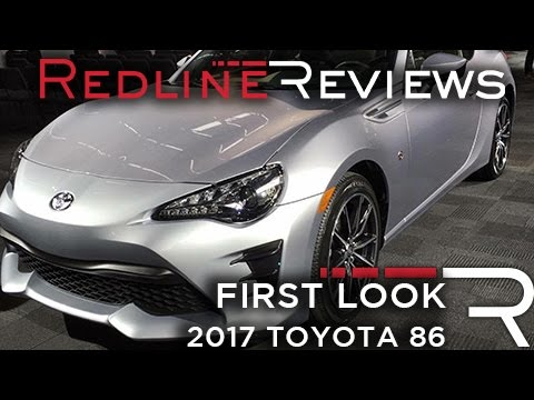 Popular 2017 Toyota 86  Redline First Look  2016 New York Auto