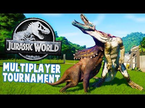 Jurassic World - Who's The Best Dinosaur Creator? - IGP vs Drae - Jurassic World Evolution Gameplay