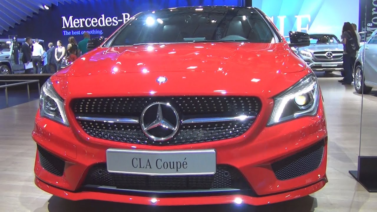 mercedes-benz cla 180 cdi amg (2015) exterior and interior in 3d