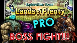 FFBE (Global) - Lands Of Plenty - PRO BOSS FIGHT!!!