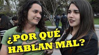 ¿LOS CHILENOS HABLAN MAL? ENTREVISTAS EN SANTIAGO DE CHILE (PARTE 1)