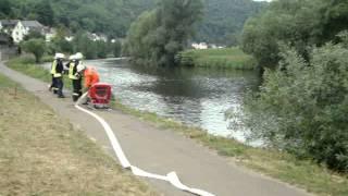 Cramberg siegt beim  Feuerwehr Wettkampf Geilnau