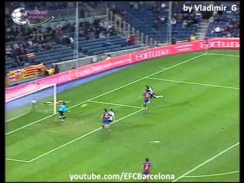 Barcelona -  Levante 2004-2005 highlights, skills