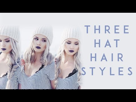 Three Winter Hat Hairstyles | Kirsten Zellers