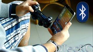 Conecta Tu Mando de PS3/PS4 Por Bluetooth!-Android