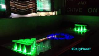 Game Changing High-tech Beer Pong Table!