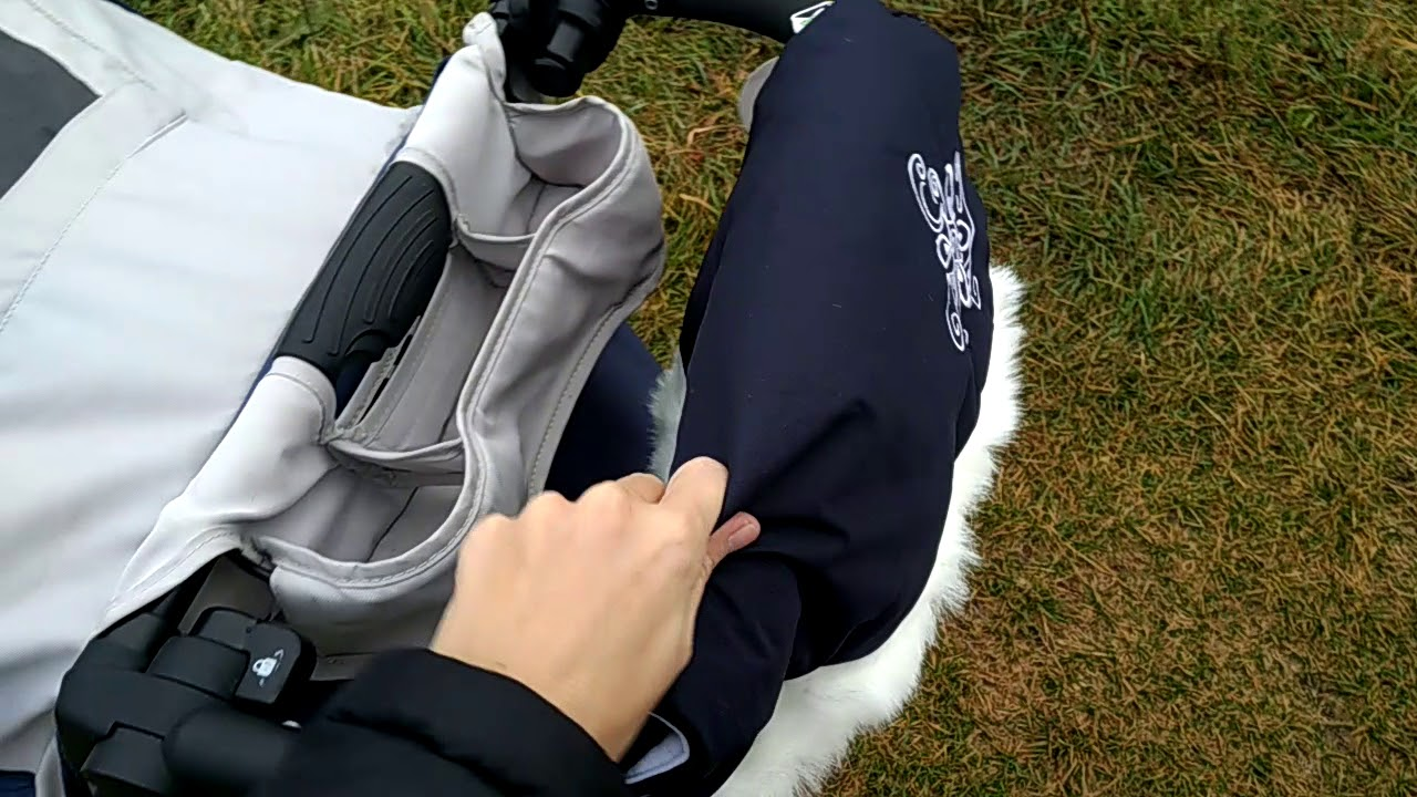 Муфта на коляску: обзор муфт Goforkid и Womar - YouTube
