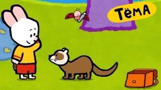 Рисунки Тёмы : Нарисуй хорька! Развивающий мультик для детей