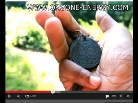Scalar Pendant ( new ) Most Powerful Pendant - Proof !!! - Zero Point Energy