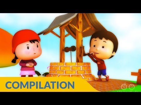 Jack and Jill Nursery  Rhymes Collection I 3D Rhymes for Kids and Children I 75 Mins Baby Songs