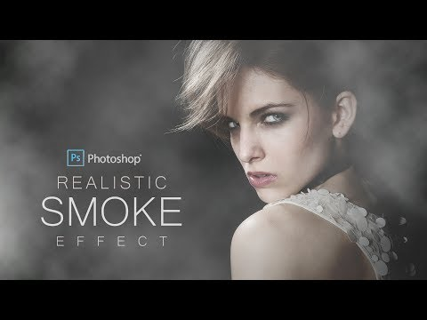 How To Create Realistic Smoke Effect In Photoshop - Dramatic Portrait Scene With Smoke