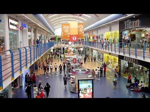 Albrook Mall Panama City, the largest shopping mall in south america