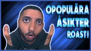 Opopulära åsikter - ROAST! (Svenska influencers, Youtubers, Pranks)