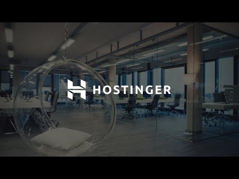 Hostinger ile Tanışın