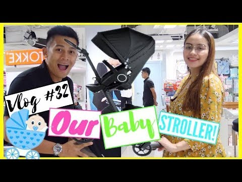 Vlog #32 Baby Gear and Stroller