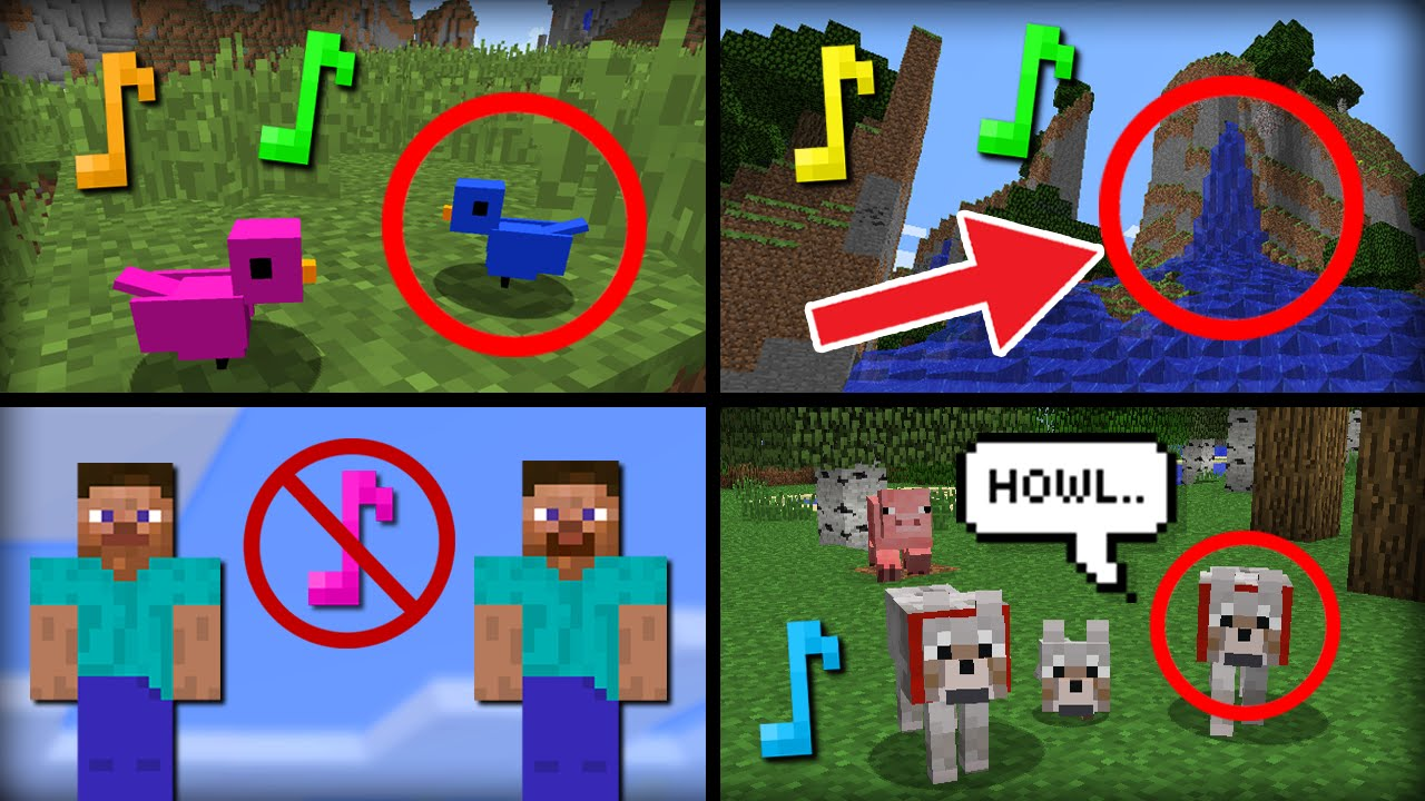 10 Secret Hidden Removed or Unused Sounds in Minecraft - iDeactivateMC
