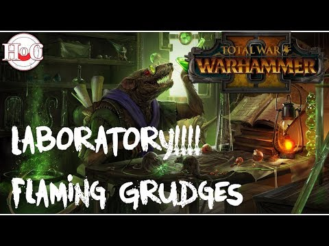 Total War Warhammer 2 Laboratory Gameplay - Flaming Grudges