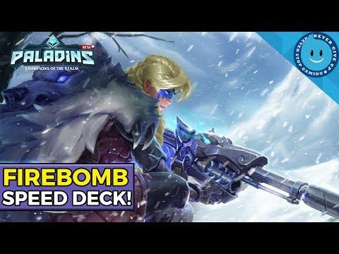 FIREBOMB TYRA! Tank-Shredding Speed Loadout! (Tyra Paladins Firebomb Buff)