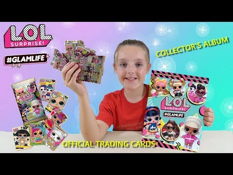 L.O.L SURPRISE! #GLAMLIFE TRADING CARD COLLECTION