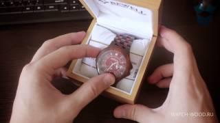 Unboxing и обзор Wood watch Bewel (деревянные часы)