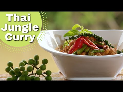 Thai Food – Classic Jungle Pork Curry Recipe