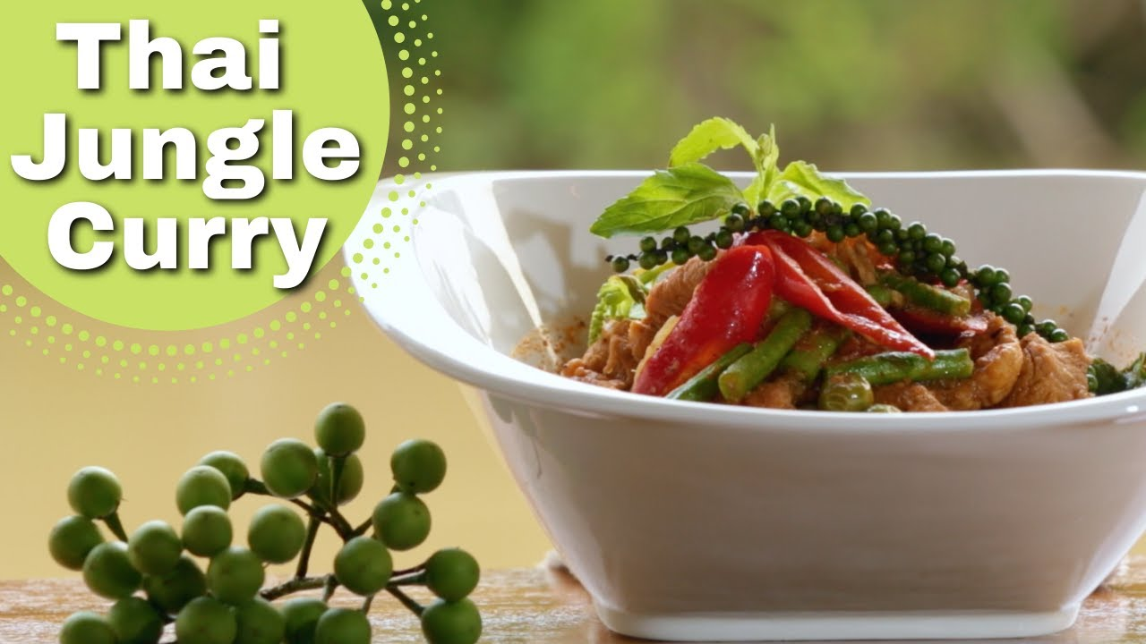 Thai food jungle pork curry recipe youtube forumfinder Images