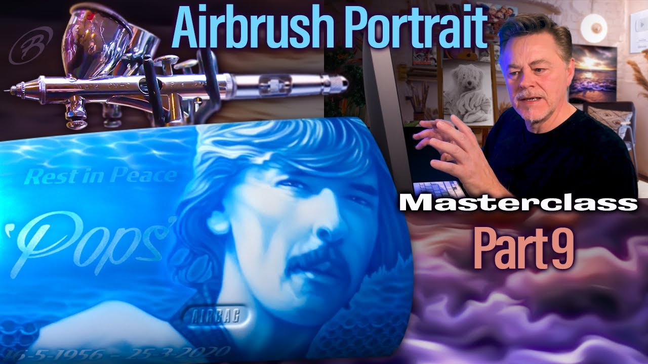 Airbrush & Photoshop Masterclass - Part 9