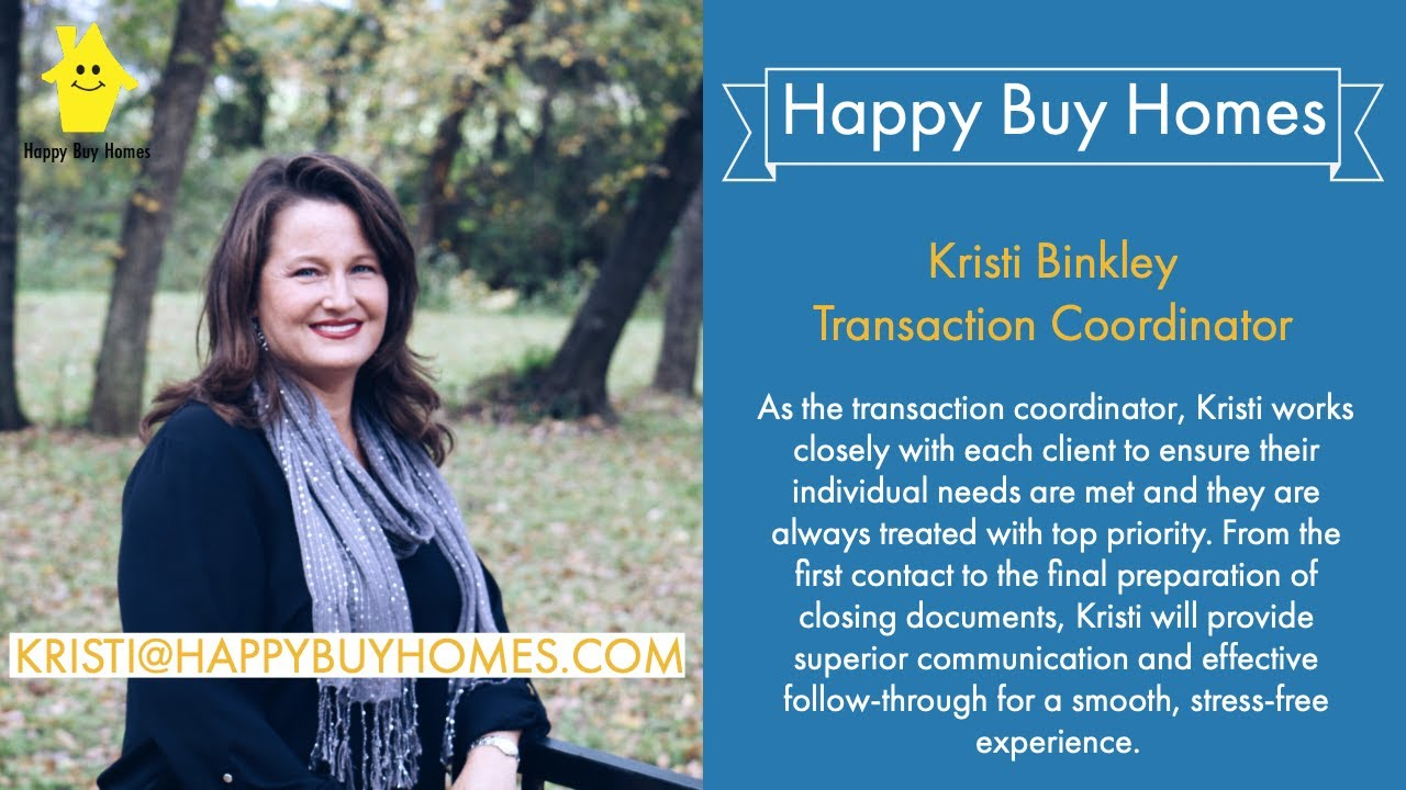 Sell My House Fast Dallas: Meet Kristi From Happy Buy Homes