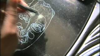 Видео урок как рисовать на камне портреты.(СМОТРИТЕ ТАКЖЕ: http://adf.ly/Sctg6 Видео в котором рассказывается как рисуют портреты на камне. На полированных..., 2013-09-04T11:41:24.000Z)