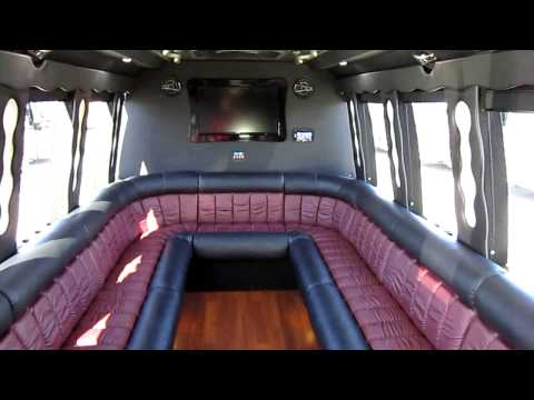 new limo bus - party bus from Las Vegas Bus Sales S06122