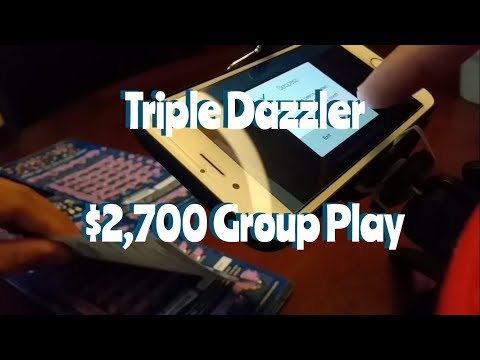 Triple Dazzler #3 - $2,700 Group Play - Winners Only! 2nd Chance Scan