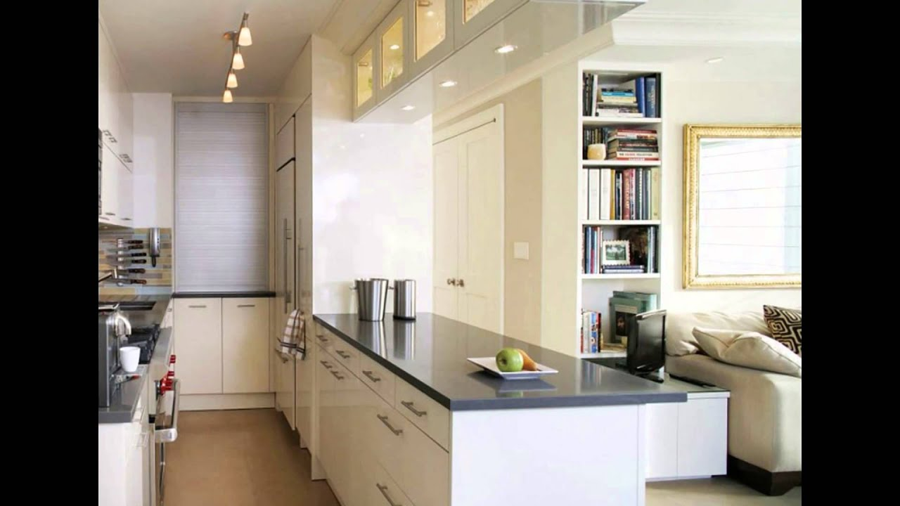 Opening A Galley Kitchen Up galley kitchen design | small galley kitchen design - youtube