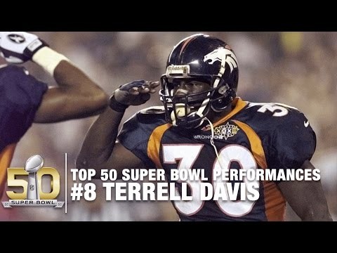#8: Terrell Davis Super Bowl XXXII Highlights | Top 50 SB Performances