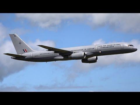 RNZAF 757-200 VIP Transport Display at 2017 Air Tattoo