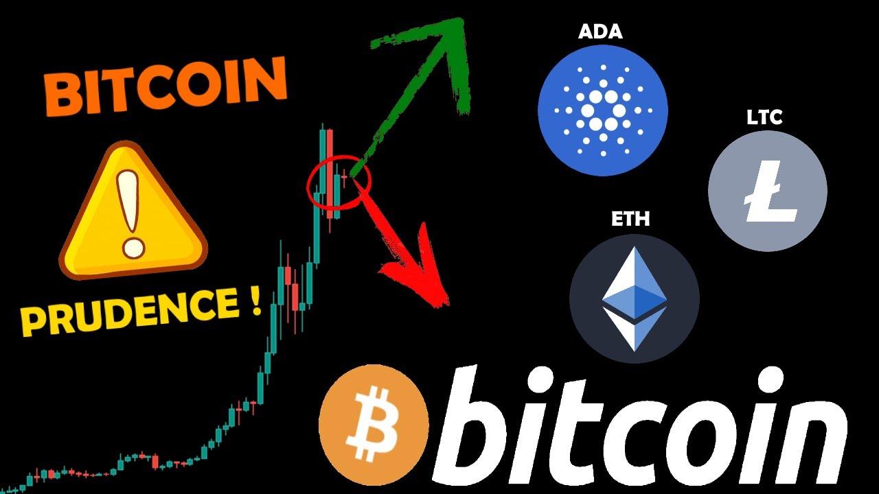 BITCOIN ⚠️ RESTEZ PRUDENTS ! / ETHEREUM 📈 REMONTE / LTC 🤔 / ADA 😱 analyse crypto monnaie fr
