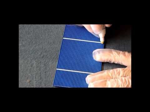 Solar Cell Tabbing Made Easy